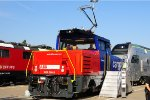 Eem 923 - new Swiss hybrid shunter at InnoTrans