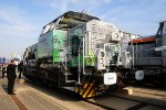 Vossloh G6 ME - new small shunter at InnoTrans