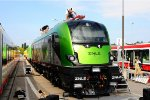 ZNLE Griffin - New high performance locomotive from Eastern Europe