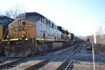 CSX 775 and Train