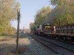 MOW Train Heading East