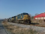 Stationary CSX Coal Train