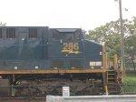 CSX 286 Resting on Track 3