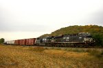 Eastbound BNSF Mixed Freight Train