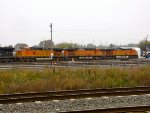 BNSF 5432, 5610, and 5272