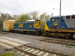 CSX 1128 and 427
