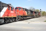 IC 9636, CN 8919 & CN 2547 - Canadian National (and an Illinois Central wearing CN colors!
