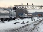 Three-Train Meet