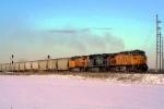 Grain train triple-header