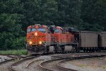 BNSF 7305 & BNSF 7216- Burlington Northern Santa Fe