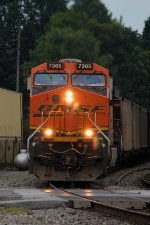 BNSF 7305 - Burlington Northern Santa Fe