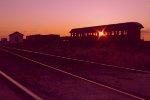 Railcar w/Sunburst