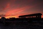 Sunset @ the Strasburg Rail Yard