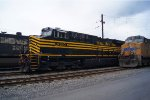 NS 8100 in Enola Yard