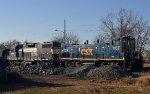 CSX 1167 and NS 5278
