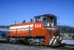 TP&W SW1500 306