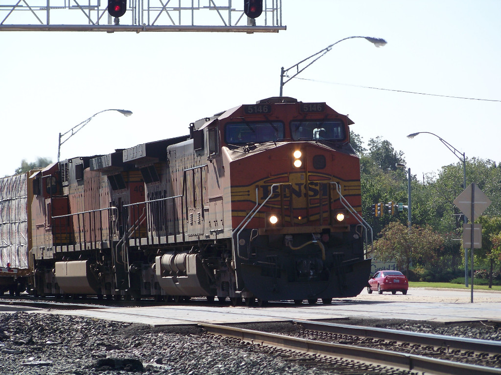 BNSF C44-9W 5146