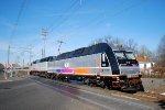 NJT 4500 NJT 4009 Test Train