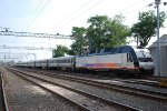 NJT 4502 In The Yard As Seen From Bath Ave