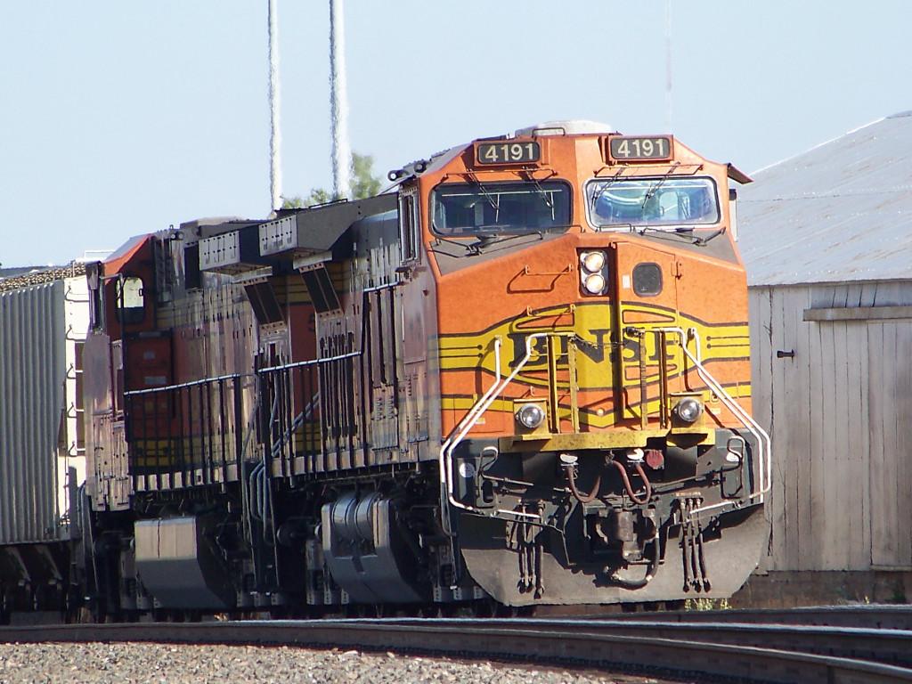 BNSF C44-9W 4191