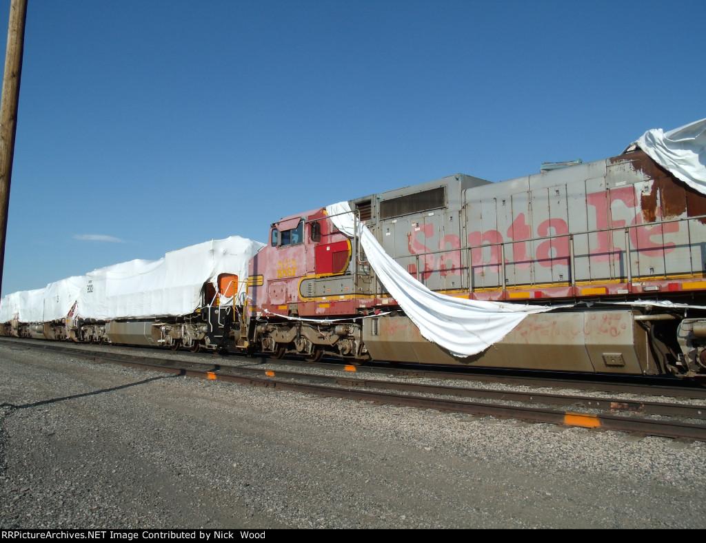 Ex Santa Fe Dash-8's getting back in service.