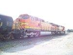 BNSF C44-9W 4448