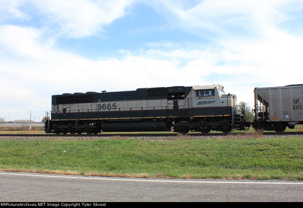BNSF 9665