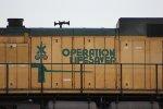 """UP 6737 """"OPERATION LIFSAVER"""""""