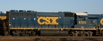CSX 6394, a former RF&P unit, is now in YN3 paint