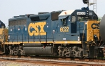 CSX 6022 displays its modified nose
