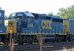 CSX 6486 in the dead line