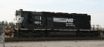 NS 3262 is the yard switcher at Pomona