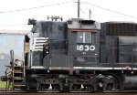 NS 1630 had its cab repaired and electric parking brake added