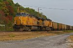 UP 7189 Leads a coal empty NB