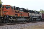 BNSF 9234 and 9625 runs 2nd and 3rd on this oil train.
