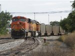 D801 rolls over the Old 17 switch pushes N956 east