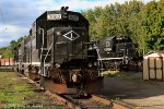 Lehigh Railway power laying over for the weekend