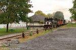 Passing an old station next to Cayuga Lake