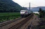 Amtrak along the Hudson
