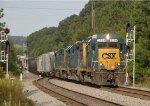 CSXT 2259 leads CSX-Q468