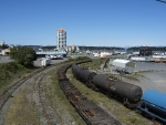 Looking west at the Nanaimo Yard