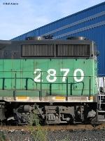 BNSF 2870