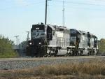 NS 3218(SD40-2) 1637(SD40-2) 3308(SD40-2)