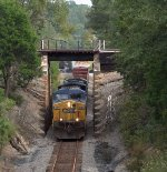 Q667 going under the NS line to Columbia