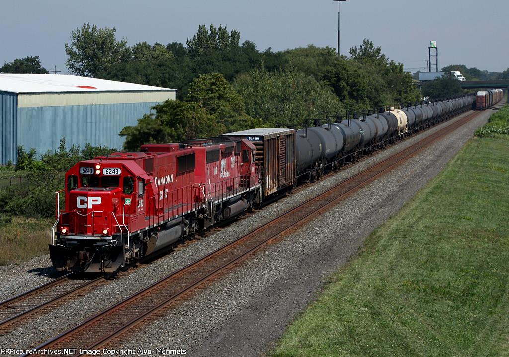 CSX K635 at Mile 70 Lakeshore Sub