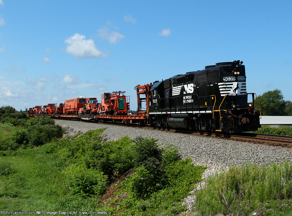 NS 098 at Mile 70 Lake Erie District