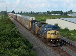 CSX Q268 at Mile 70 Lakeshore Sub
