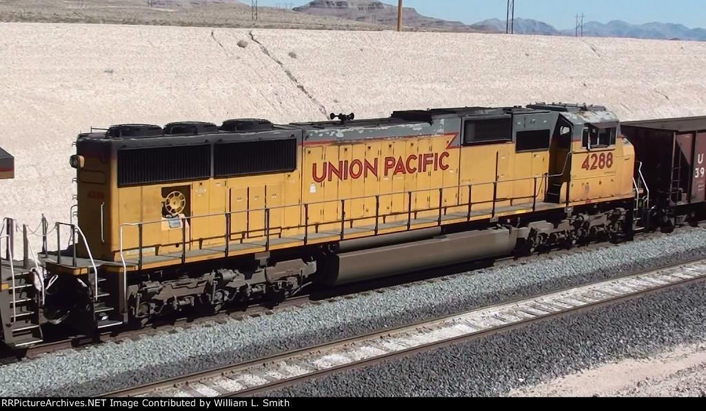 WB MOW Rail Train at Apex Summit NV - 3