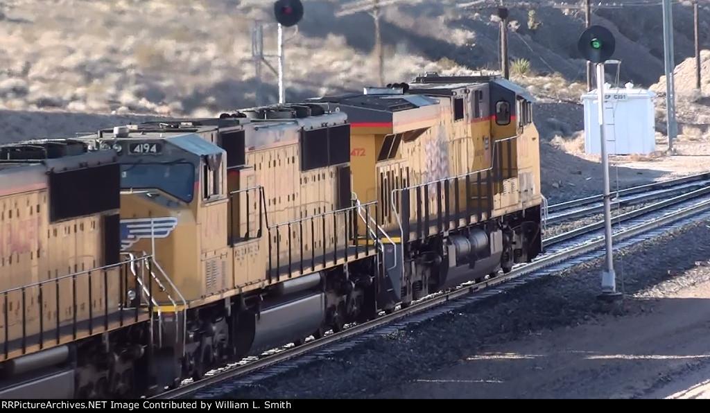 WB Stack train at Apex Summit NV-3A