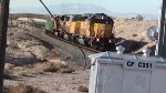 EB Ballast train at Apex NV